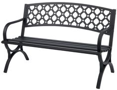 Living Accents Steel Park Bench $59.99 (acehardware.com)