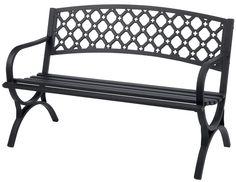 Living Accents Steel Park Bench $59.99 (acehardware.com)