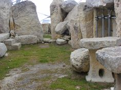 remains of Ancient building in Malta