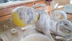 Paper Mache Octopus : Craft Tutorial