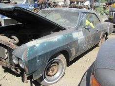 1967 Buick Skylark, whole Vehicle $1000.00 call the Auto Office for full details 604-855-1644