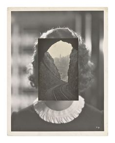John Stezaker - Mask LXV  - The Approach
