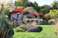 pretty-building-sloping-autumn-garden-preston-park-rockery-many-interesting-plants