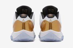 The Air Jordan 11 Low Metallic Gold Is Releasing Later This Summer | Sneakers Cartel