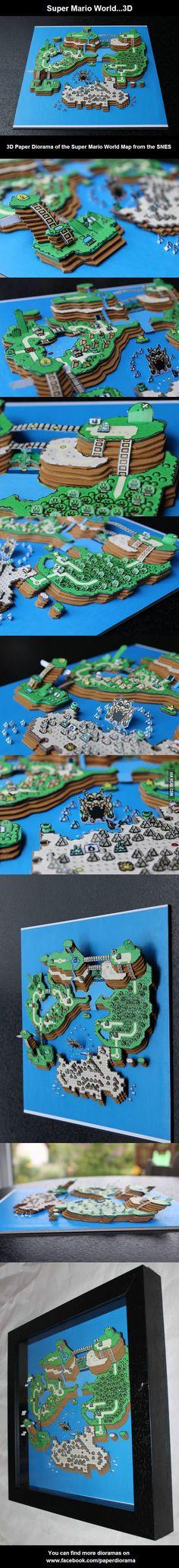 Super Mario World Diorama