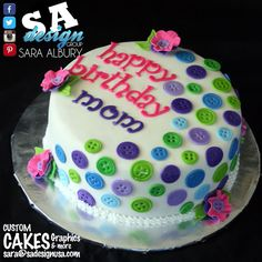 Edible Cake Images Albury : Birthday Cake Design for Adults on Pinterest Happy ...