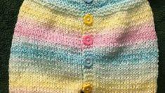 Yakadan başlama kısa kollu kısa paçalı renkli tulum slopet yapımı 1 yaş – Örgü resimli anlatımlı örgü sitesi Knitting For Kids, Manga, Sweaters, Fashion, Knit Baby Sweaters, Dots, Amigurumi, Moda, Sweater