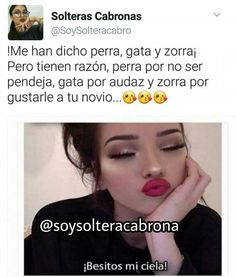 Funny Spanish Memes, Spanish Quotes, Love Phrases, Love Words, Badass Quotes, Love Quotes, Wtf Funny, Funny Memes, Quotes About Haters