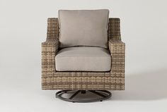 Capri Outdoor Swivel Chair | Living Spaces