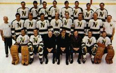 Minnesota North Stars 1971 Cup Run (1970-71 team photo).