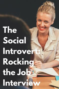 """The Social Introvert: Rocking the Job Interview by @sophiadembling. """"Dear Sophia, I was wondering if you had any comment about introversion and job interviews. It seems that being introverted is often viewed as a liability, and introverts are often viewed with suspicion in job interview situations."""" Click through to read Sophia's advice."""