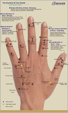 HAND REFLEXOLOGY CHARTS - Tips for recognizing a good reflexology hand chart!