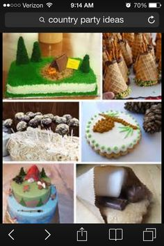 Modern Country Designs Backyard Camping Party Ideas Tents With Waffle Cones