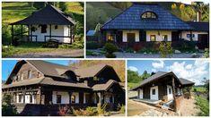 Modele de case din Bucovina. Arhitectura traditionala in locuinte pline de farmec Home Fashion, Traditional, Mansions, House Styles, Home Decor, Romania, Houses, Homes, Decoration Home