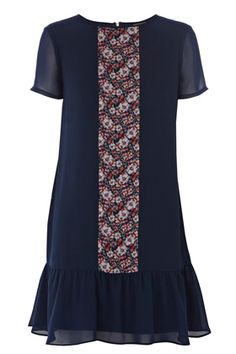 60s Inspired Fashion, No Frills, Warehouse, Dress Outfits, Chiffon, Short Sleeve Dresses, High Neck Dress, Neckline, Drop