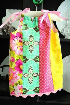 The Ness Story: Pillowcase Dress Tutorial