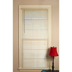 Mainstays Room Darkening Mini Blinds, Off-White $7.64 for 27 x 64.  $10.94 for 35 x 72.