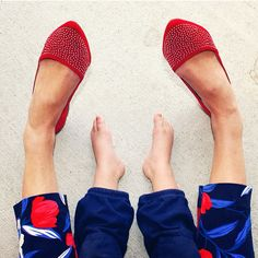 The most adorable pair we've ever seen. Shoe Lover @harpers_hats shares her shoe…
