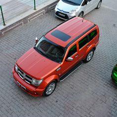 Fiery Orange Dodge Nitro