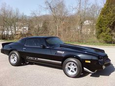 Black 1979 Z28 Camaro 454 Big Block