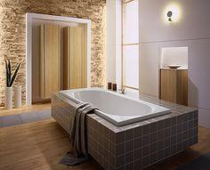 Die besten 25 badewanne verkleiden ideen auf pinterest badewanne holz steinverkleidung und - Badezimmer fliesen verkleiden ...