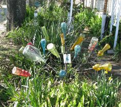 bottle tree | first saw a bottle tree last year at some Mississippi Gulf Coast ...