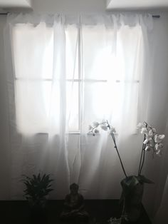 """DIY daylight illuminated """"window"""" with curtains using """"plant grow lights"""""""" for illumionation - for dark windowless spaces/ basements etc. Amazingly useful and acceptable result - and by someone who is clearly not a home handyman"""