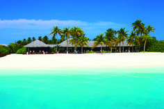 We love this picture perfect beach at Zitahli in the Maldives. So beautiful!