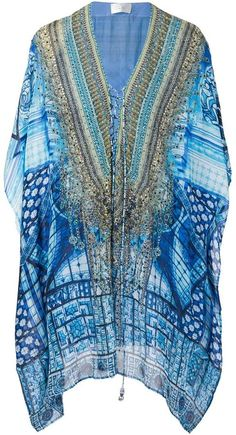 Camilla embellished kaftan dress