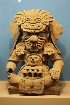 Cocijo,Dios mixteco y zapoteco,el equivalente a Tlaloc ,Dios de la Lluvia