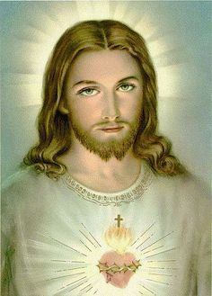It's truth that great prophets were sent by God before Jesus Christ; After Jesus Christ it was not necessary any more because besides fulfilling all these teachings He surpassed them with His own life. Pictures Of Jesus Christ, Religious Pictures, Religious Art, Heart Of Jesus, Jesus Is Lord, Image Jesus, Jesus Photo, Jesus Face, Divine Mercy