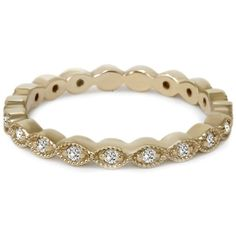 1/3CT Stackable Diamond Wedding Eternity Ring 14K Yellow Gold by Pompeii3 on Etsy https://www.etsy.com/listing/184059127/13ct-stackable-diamond-wedding-eternity