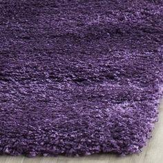 shop for safavieh milan shag purple rug 2u0027 x 4u0027 free