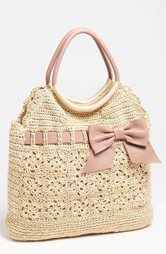 Bolsas de Crochet Rafia Valentino