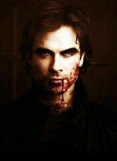Vampire Damon Salvatore.