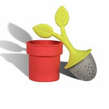 Tea Leaf/ Plant Tea Infuser by vofficial on Etsy