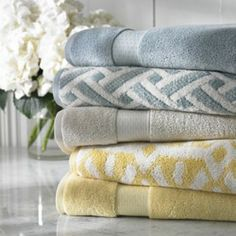 "Kohls Bath Towels Mesmerizing Kassatex Bath Towels Saville 18"" X 28"" Hand Towel  Bath Towels Decorating Inspiration"