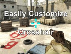 Map for custom crosshair! Easy with no console commands.