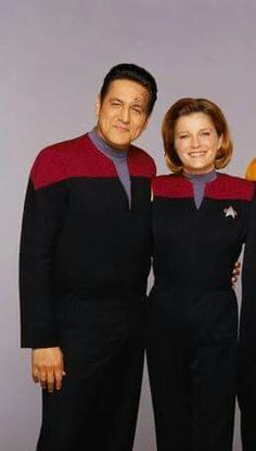 Robert Beltran & Kate Mulgrew