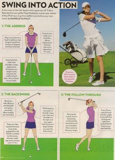 Swing into action... #GolfTips