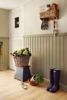 Crazy Ideas Wainscoting Styles Stairs wainscoting decor ideas Wainscoting Bedroom Decor craftsman wainscoting hallways Wainscoting Decor Ideas is part of Cottage hallway - Wainscoting Hallway, Painted Wainscoting, Wainscoting Styles, Rustic Wainscoting, Black Wainscoting, Wainscoting Nursery, Wainscoting Kitchen, Wainscoting Panels, Cottage Hallway