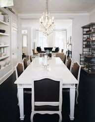 Luscious dining rooms - mylusciouslife.com - Katie Lee Joel's House | Design by Nate Berkus