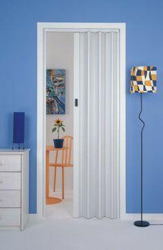 Bathroom Closet, Bathroom Doors, Accordion Folding Doors, Laundry Doors, Diy Room Divider, Kitchen Office, Sliding Doors, Office Furniture, Tall Cabinet Storage