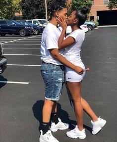 Pin by carlisha on couple goals Lesbian Outfits, Cute Lesbian Couples, Lesbian Love, Black Couples, Cute Couples Goals, Couple Goals, Black Relationship Goals, Couple Relationship, Cute Relationships