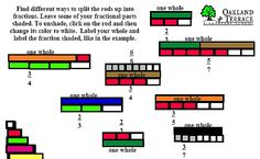1000 images about cuisenaire rod activities on pinterest fractions multiplication and math facts. Black Bedroom Furniture Sets. Home Design Ideas