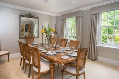 #AshgroveHomes #LambourneHouse #KohlerUK Case Study, Beautiful Homes, Building A House, Dining Table, Rustic, Furniture, Home Decor, House Of Beauty, Country Primitive
