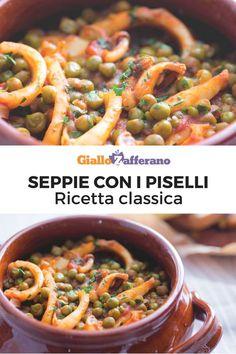 Fish Recipes, Seafood Recipes, Cooking Recipes, Healthy Recipes, A Food, Good Food, Food And Drink, Calamari, Pane Casereccio