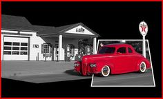 Hot Rod car. From my eyes, through the view finder to the click of the shutter. I hope you enjoy these moments in time that have been captured. Stop by and check out some of my other Galleries on Fine Art America. Just simply search for Thomas Woolworth. Photographer (1977), Digital Artist and Owner V'CAD Support (since 1987). 