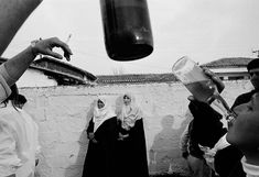 Nikos Economopoulos GREECE. Thrace region, near Xanthi. Muslim wedding. 1991.