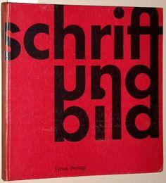 """""""schrift und bild"""" (1963), ex. cat., stedelijk museum amsterdam, 3.5.–10.6.1963 & Staatliche Kunsthalle Baden-Baden, 15.6.–4.8.1963"""